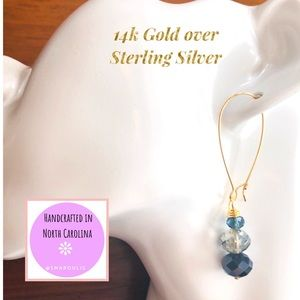 Frontrow.style Jewelry - 14k over Sterling Silver Thalia French Wire